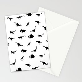 Dinosaurs pattern Stationery Cards