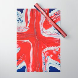 Abstract Union Jack Wrapping Paper