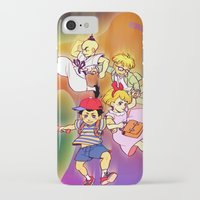 earthbound iPhone & iPod Cases featuring Earthbound by Robin