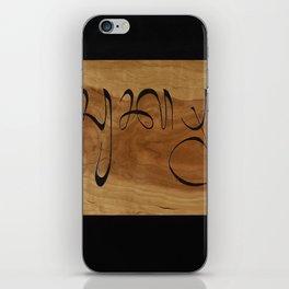 "Balinese ""Thank You"" iPhone Skin"