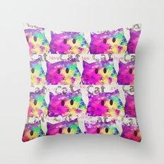 cat-355 Throw Pillow