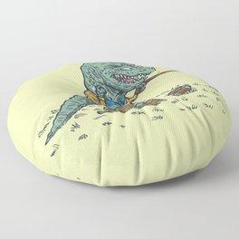 Geriatricasaur Floor Pillow