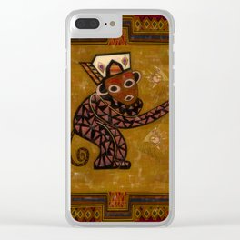 Monkey Do Clear iPhone Case
