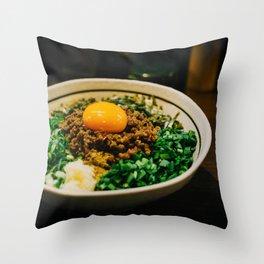 Taiwanese Maze-soba Throw Pillow