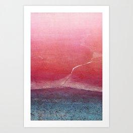 frozen series I Art Print