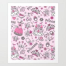 Princess Mania Art Print