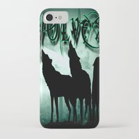 wolves iPhone & iPod Cases featuring WolveS by shannon's art space