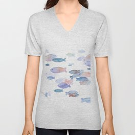 Little fish Unisex V-Neck