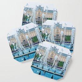 blue palace fountain Coaster