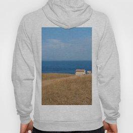 beach front lighthouse medulin croatia Istria Hoody