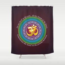 OmPresence Shower Curtain