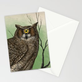 Great Cyclopean Owl Stationery Cards