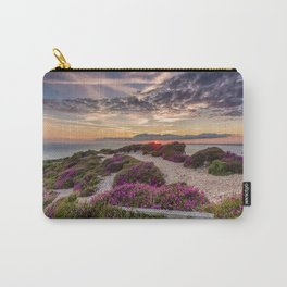Headon Hill Sunset Isle Of Wight Carry-All Pouch