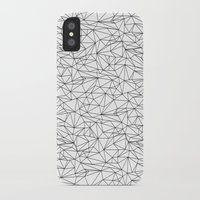 the wire iPhone & iPod Cases featuring Geometric Wire by Maiko Nagao