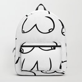 Boobs for days Backpack
