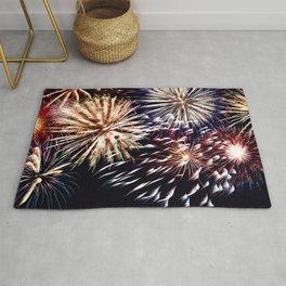 celebration fireworks Rug