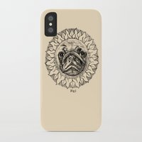 astronomy iPhone & iPod Cases featuring Astronomy Pug by beart24