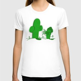 Cactus Scissorhands T-shirt