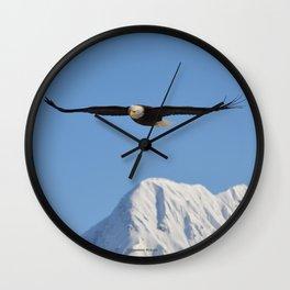 Bird's Eye View! Wall Clock