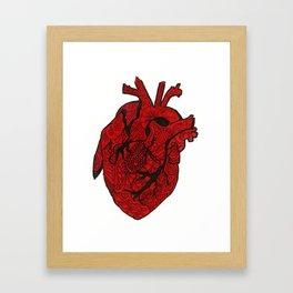 Heart Still Whole Framed Art Print
