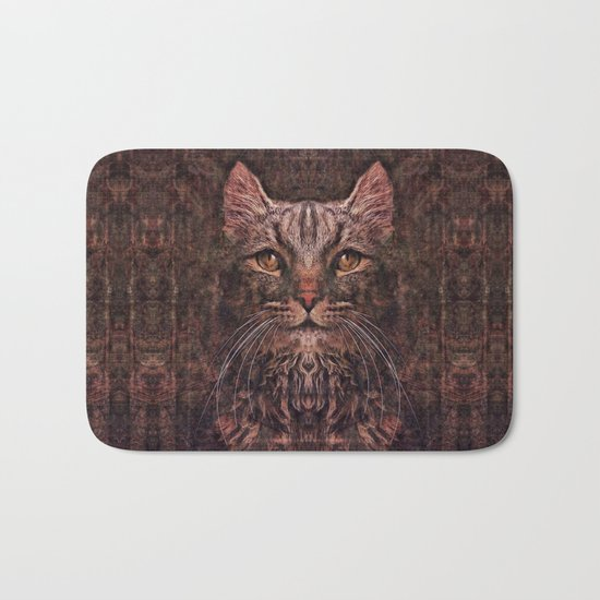 Mr. Cat Bath Mat