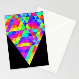 Fractal Triforce Stationery Cards