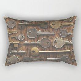 Key background Rectangular Pillow