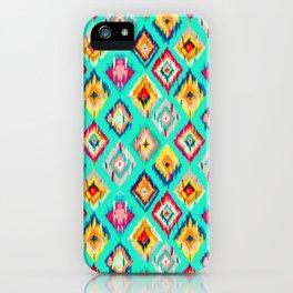 Bohemian Ikat Painting iPhone Case