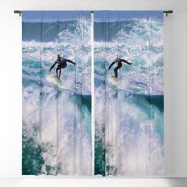 Wave Series Photograph No. 16. - Surf's Up! Blackout Curtain