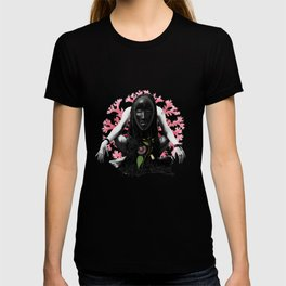 Passion Flower Tribal Collage T-shirt