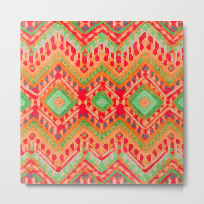 itzel - candy + lime Metal Print