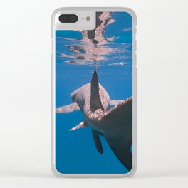 Chasing Tail Clear iPhone Case