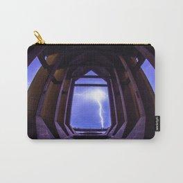 Framed Lightning Carry-All Pouch