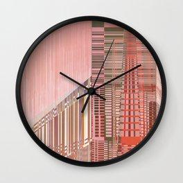 Pinky Space / URBAN 25-07-16 Wall Clock