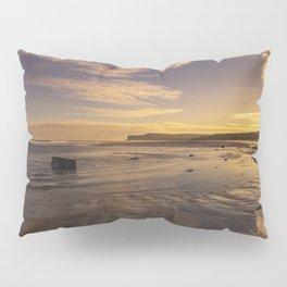 Marske Beach North Yorkshire Pillow Sham
