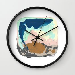 GET TO THE RIVER Wall Clock