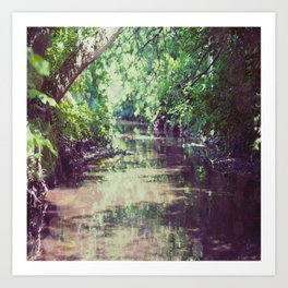 Creekside 1 Art Print