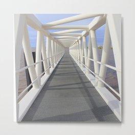 Jetty bridge Metal Print