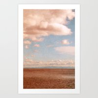 heaven Art Prints featuring Heaven by Claudia Drossert