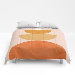 Abstraction Circles Balance Modern Minimalism 007 Comforters