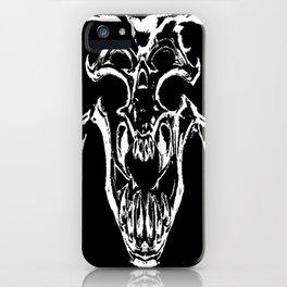 Tyrant Viking Skull iPhone Case