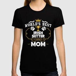World's Best Irish Setter Mom T-shirt