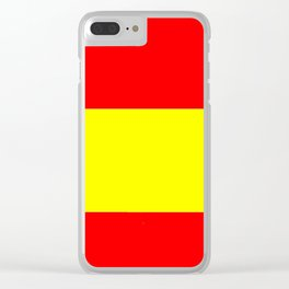 Flag of spain 4-spain,espana, spanish,plus ultra,espanol,Castellano,Madrid,Barcelona Clear iPhone Case