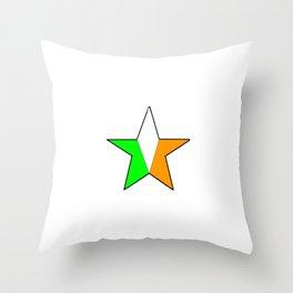 flag of ireland 11 -ireland,eire,airlann,irish,gaelic,eriu,celtic,dublin,belfast,joyce,beckett Throw Pillow
