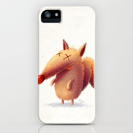 Monday fox iPhone Case