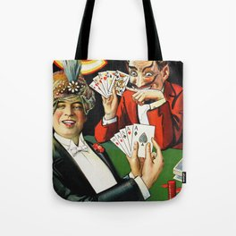 Carter The Great Magician Poster Tote Bag