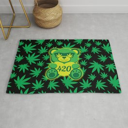 420 Teddy Bear Rug