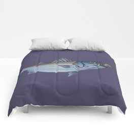 Striper Season Comforters