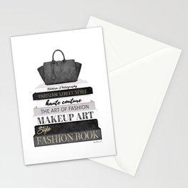 Fashion books, fashion illustration, grey, Black and white, Bag, Hand bag, Style, Art of fashion Stationery Cards