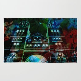 UK, England, London, Natural History Museum, the facade Rug